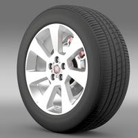 Fiat Doblo Cargo wheel 2015 3D Model