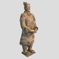 Soldier statue 3D Model