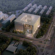 Office buildings 031 3D Model