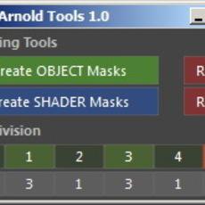 Arnold Tools for Maya 1.0.0 (maya script)