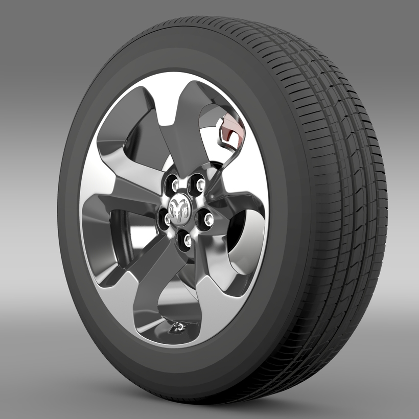 Ram Promaster City Tradesman wheel 2015 3D Model