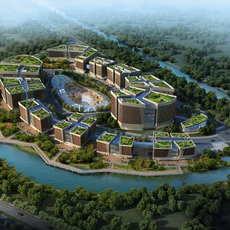 Office buildings 035 3D Model