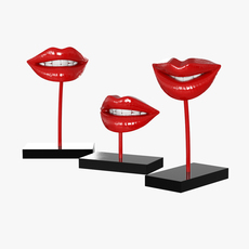 Figurine Lips 3D Model