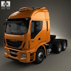 Iveco Stralis Tractor Truck Truck 2012 3D Model