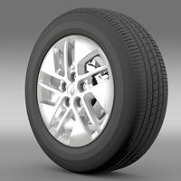 Renault Trafic wheel 2015 3D Model