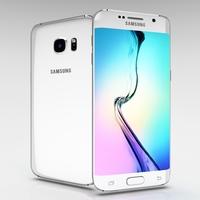 Samsung Galaxy S6 Edge+ White Pearl 3D Model