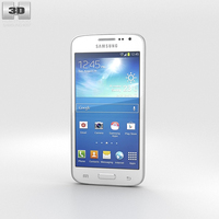 Samsung Galaxy Core LTE White 3D Model