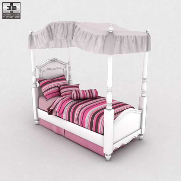 exquisite bedroom set.  07 45 13 106 exquisite poster bedroom set 600 0005 4 Ashley Exquisite Bedroom Set 3D Model