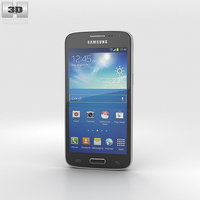 Samsung Galaxy Core LTE Black 3D Model