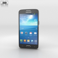 Samsung Galaxy Core Lite LTE Black 3D Model