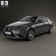 Lexus IS (XE30) 2013 3D Model