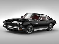 Aston Martin V8 (1976) 3D Model