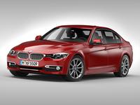 BMW 3 Series F30 (2013) 3D Model