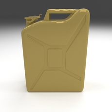 Jerry Can Yellow 3D Model