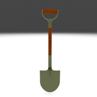 Shovel 3D Model