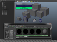 Free Create + Assign Materials to selection for Maya 1.0.1 (maya script)