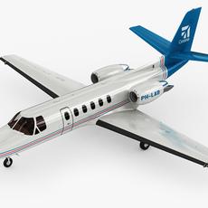 Cessna 550 Citation II 3D Model