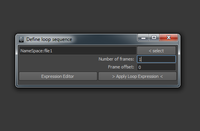 loop Image Sequence 1.0.2 for Maya (maya script)