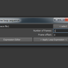 loop Image Sequence for Maya 1.0.2 (maya script)