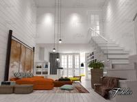 Living room 38 3D Model
