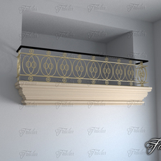 Balcony 04 3D Model
