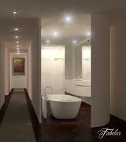 Bathroom 72 3D Model