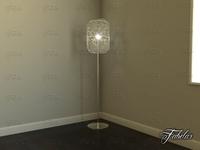 Floor lamp 01 3D Model