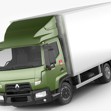 Renault Trucks D 3,5 - 7,5T 3D Model