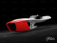 Audi Calamaro concept 3D Model
