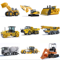Collection Public Works Machines 3D Model