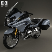 BMW R1200RT 2014 3D Model