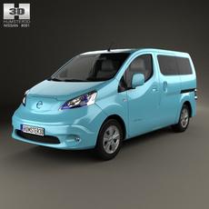 Nissan e-NV200 Evalia 2014 3D Model