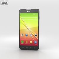 LG L90 Dual Black 3D Model