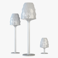 Vondom Standing Lamp 3D Model