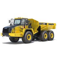Articulated Dump Truck Komatsu HM400-5 3D Model