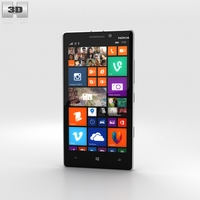 Nokia Lumia 930 White 3D Model