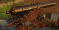 Spanish royal navy cannon 3D Model