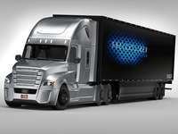 Freightliner Inspiration 3D Model