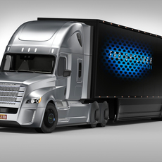 Freightliner Inspiration 3D Model