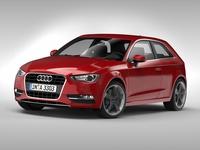 Audi A3 (2013) 3D Model