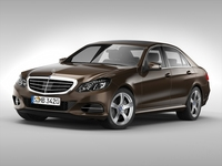 Mercedes Benz E Class (2014) 3D Model