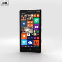 Nokia Lumia 930 Bright Orange 3D Model