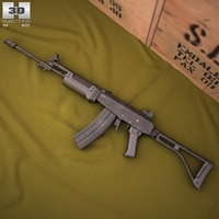 IMI Galil AR 3D Model