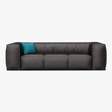 Scruffy Sofa 3D Model