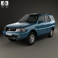 Tata Safari 2009 3D Model