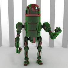 Robot 42B66 3D Model