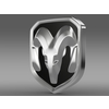 Dodge RAM logo 3D Model
