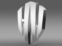 W Motors Lykan Hypersport logo 3D Model