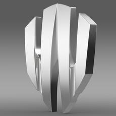 W Motors Lykan Hypersport logo 3D Model
