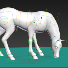 Horse Free Rig for 3dsmax 1.0.0